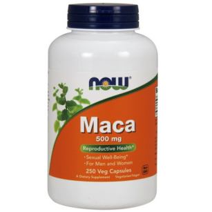NOW MACA 500mg  250kaps