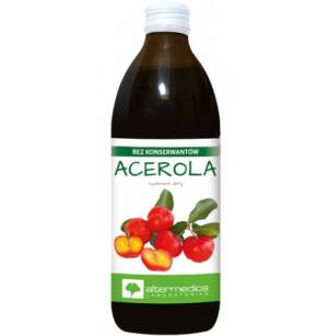 Sok Acerola 100% 500ml  Alter Medica